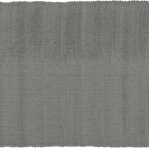 Cotton Dhurrie Tabby in Charcoal with white band