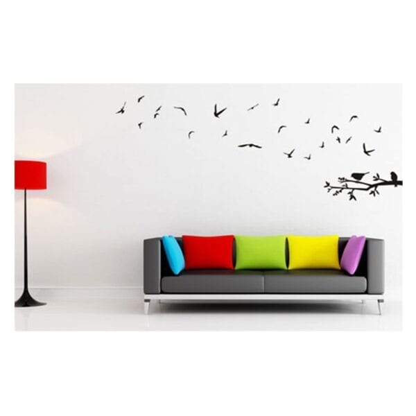 fly away birds vinyl wall art | stickers - metro home centre menlyn