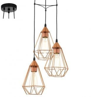TARBES 3 LIGHTS COPPER P691