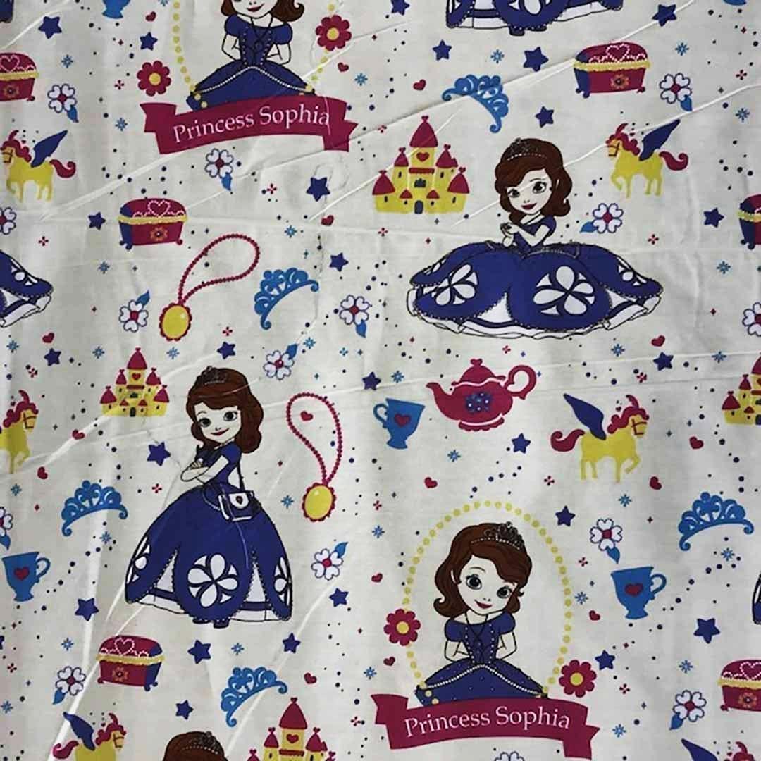 Umbrella Princess Sofia Print CREAM