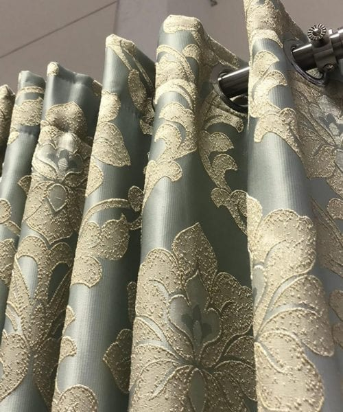 CLASSIC DAMASK LINED CURTAIN (2)